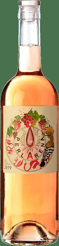 11,95 € Envío gratis | Vino rosado Dominio del Bendito Perlarena D.O. Toro Castilla y León España Syrah, Tinta de Toro, Verdejo Botella 75 cl