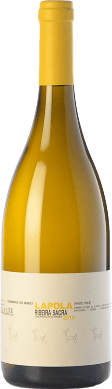 16,95 € | White wine Dominio do Bibei Lapola Crianza D.O. Ribeira Sacra Galicia Spain Godello, Doña Blanca Bottle 75 cl