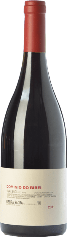 34,95 € 免费送货 | 红酒 Dominio do Bibei MT Crianza D.O. Ribeira Sacra 加利西亚 西班牙 Mouratón 瓶子 75 cl