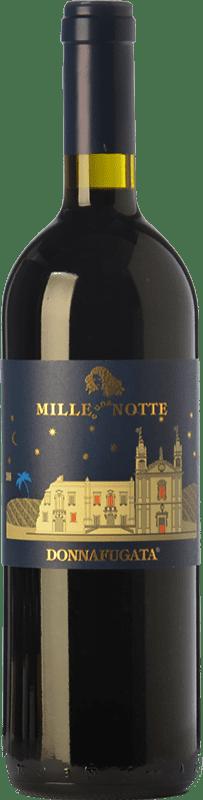 119,95 € Free Shipping | Red wine Donnafugata Mille e Una Notte D.O.C. Contessa Entellina Sicily Italy Nero d'Avola Magnum Bottle 1,5 L