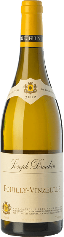 23,95 € Free Shipping | White wine Drouhin Crianza A.O.C. Pouilly-Vinzelles Burgundy France Chardonnay Bottle 75 cl