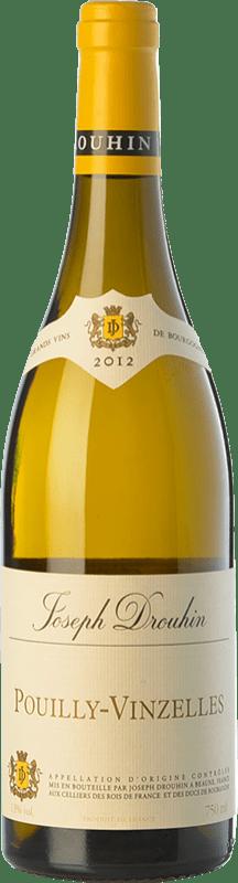23,95 € | White wine Drouhin Crianza A.O.C. Pouilly-Vinzelles Burgundy France Chardonnay Bottle 75 cl