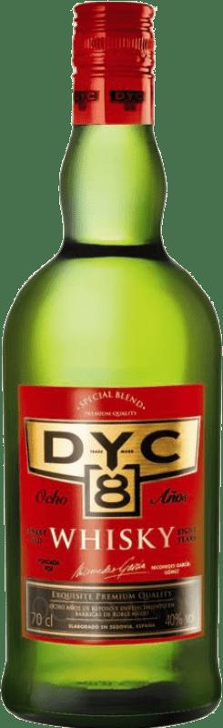 12,95 € Envoi gratuit   Whisky Blended DYC 8 Espagne Bouteille 70 cl