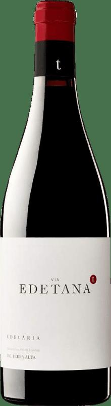14,95 € 免费送货 | 红酒 Edetària Via Edetana Negre Crianza D.O. Terra Alta 加泰罗尼亚 西班牙 Syrah, Grenache, Carignan 瓶子 75 cl