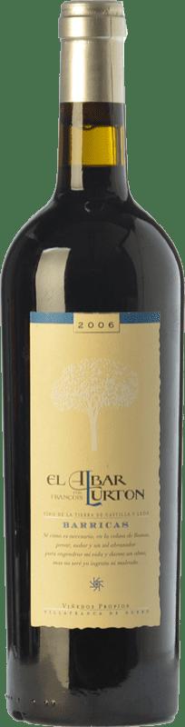 15,95 € 免费送货   红酒 Albar Lurton Barricas Crianza I.G.P. Vino de la Tierra de Castilla y León 卡斯蒂利亚莱昂 西班牙 Tinta de Toro 瓶子 75 cl