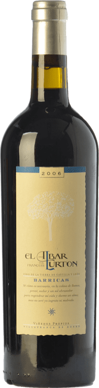 15,95 € Envoi gratuit | Vin rouge Albar Lurton Barricas Crianza I.G.P. Vino de la Tierra de Castilla y León Castille et Leon Espagne Tinta de Toro Bouteille 75 cl