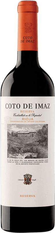 9,95 € | Red wine Coto de Rioja Coto de Imaz Reserva D.O.Ca. Rioja The Rioja Spain Tempranillo Bottle 75 cl