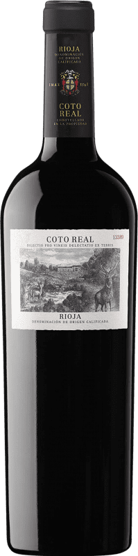 29,95 € | Red wine Coto de Rioja Coto Real Reserva D.O.Ca. Rioja The Rioja Spain Tempranillo, Grenache, Mazuelo Bottle 75 cl