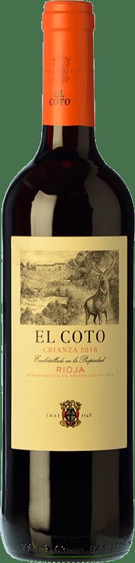 7,95 € Envoi gratuit   Vin rouge Coto de Rioja Crianza D.O.Ca. Rioja La Rioja Espagne Tempranillo Bouteille 75 cl