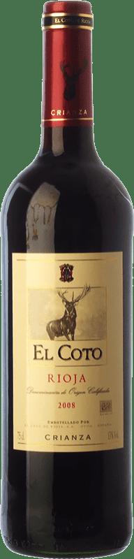 17,95 € Envío gratis | Vino tinto Coto de Rioja Crianza D.O.Ca. Rioja La Rioja España Tempranillo Botella Mágnum 1,5 L