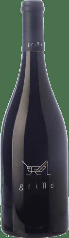 49,95 € Free Shipping | Red wine El Grillo y la Luna Crianza D.O. Somontano Aragon Spain Merlot, Syrah, Grenache, Cabernet Sauvignon Bottle 75 cl