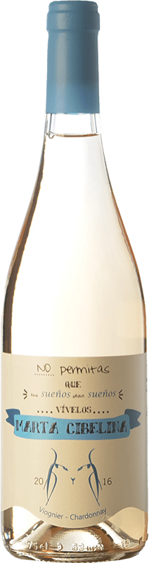 8,95 € | White wine El Linze Marta Cibelina I.G.P. Vino de la Tierra de Castilla Castilla la Mancha Spain Viognier, Chardonnay Bottle 75 cl
