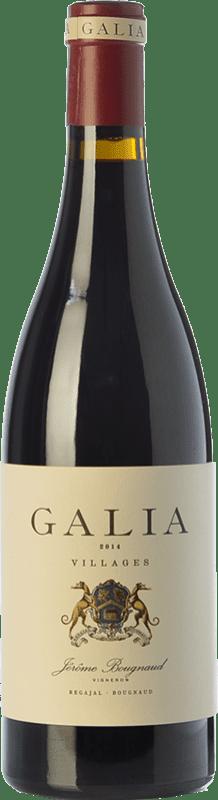 39,95 € 免费送货 | 红酒 El Regajal Galia Crianza D.O. Vinos de Madrid 马德里社区 西班牙 Tempranillo, Grenache 瓶子 75 cl