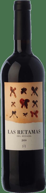 8,95 € 免费送货 | 红酒 El Regajal Las Retamas Joven D.O. Vinos de Madrid 马德里社区 西班牙 Tempranillo, Merlot, Syrah, Cabernet Sauvignon 瓶子 75 cl