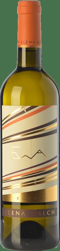 16,95 € | White wine Elena Walch EWA Cuvée Italy Chardonnay, Gewürztraminer, Müller-Thurgau Bottle 75 cl