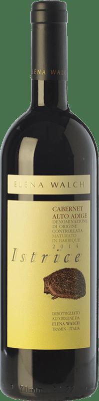 29,95 € | Red wine Elena Walch Cabernet Istrice D.O.C. Alto Adige Trentino-Alto Adige Italy Cabernet Sauvignon, Cabernet Franc Bottle 75 cl