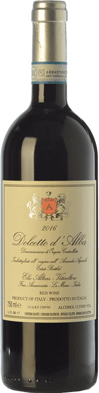 15,95 € Free Shipping | Red wine Elio Altare D.O.C.G. Dolcetto d'Alba Piemonte Italy Dolcetto Bottle 75 cl