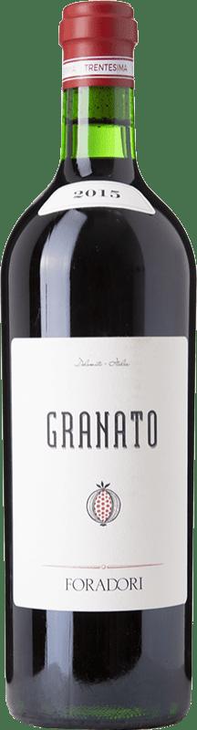 64,95 € 免费送货 | 红酒 Foradori Granato I.G.T. Vigneti delle Dolomiti 特伦蒂诺 意大利 Teroldego 瓶子 75 cl