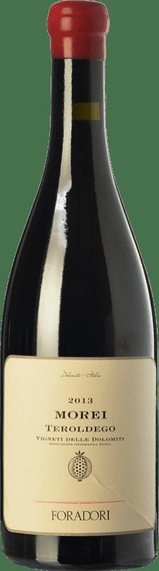 38,95 € | Red wine Foradori Morei I.G.T. Vigneti delle Dolomiti Trentino Italy Teroldego Bottle 75 cl