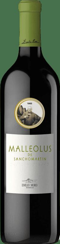 125,95 € | Red wine Emilio Moro Malleolus de Sanchomartín Reserva D.O. Ribera del Duero Castilla y León Spain Tempranillo Bottle 75 cl