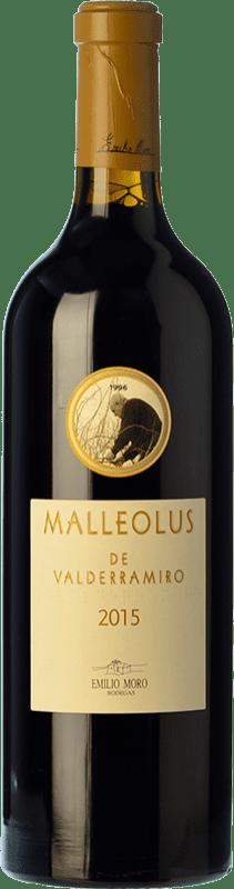 89,95 € | Red wine Emilio Moro Malleolus de Valderramiro Crianza D.O. Ribera del Duero Castilla y León Spain Tempranillo Bottle 75 cl