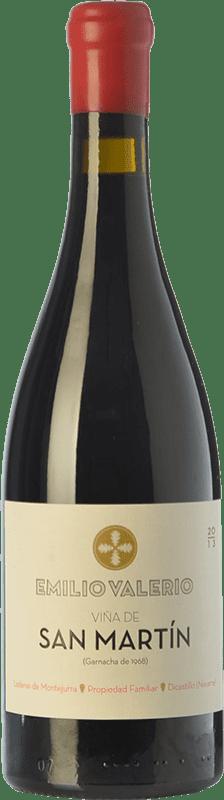 39,95 € Envío gratis | Vino tinto Emilio Valerio San Martin Reserva D.O. Navarra Navarra España Tempranillo, Garnacha Botella 75 cl