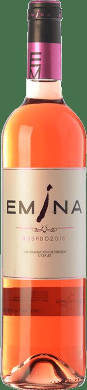 6,95 € Spedizione Gratuita | Vino rosato Emina D.O. Cigales Castilla y León Spagna Tempranillo, Verdejo Bottiglia 75 cl