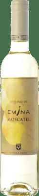 6,95 € Envío gratis | Vino dulce Emina D.O. Rueda Castilla y León España Moscatel Media Botella 50 cl