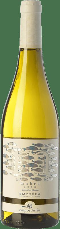 9,95 € Free Shipping | White wine Empordàlia Mabre Crianza D.O. Empordà Catalonia Spain Grenache White Bottle 75 cl