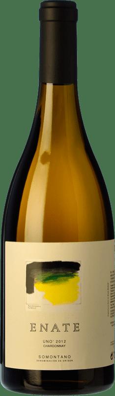 318,95 € | White wine Enate Uno Crianza 2011 D.O. Somontano Aragon Spain Chardonnay Bottle 75 cl