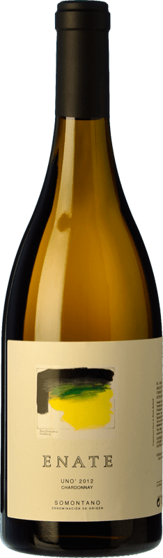 318,95 € | White wine Enate Uno Crianza D.O. Somontano Aragon Spain Chardonnay Bottle 75 cl