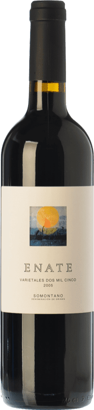 29,95 € 免费送货 | 红酒 Enate Varietales Crianza D.O. Somontano 阿拉贡 西班牙 Tempranillo, Merlot, Cabernet Sauvignon 瓶子 75 cl