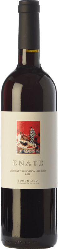 6,95 € | Red wine Enate Cabernet Sauvignon-Merlot Joven D.O. Somontano Aragon Spain Merlot, Cabernet Sauvignon Bottle 75 cl