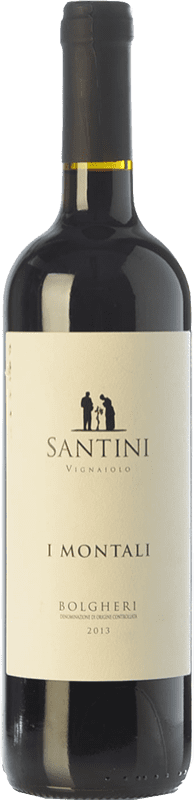 19,95 € | Red wine Enrico Santini I Montali D.O.C. Bolgheri Tuscany Italy Merlot, Syrah, Cabernet Sauvignon, Sangiovese Bottle 75 cl