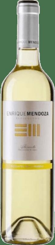 9,95 € 免费送货 | 甜酒 Enrique Mendoza Moscatel La Marina D.O. Alicante 巴伦西亚社区 西班牙 Muscat of Alexandria 瓶子 75 cl