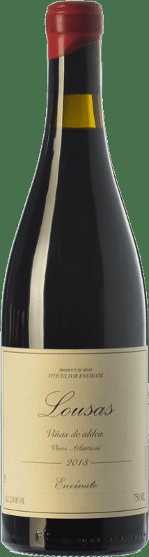 15,95 € Envío gratis | Vino tinto Envínate Lousas Viñas de Aldea Crianza D.O. Ribeira Sacra Galicia España Mencía Botella 75 cl