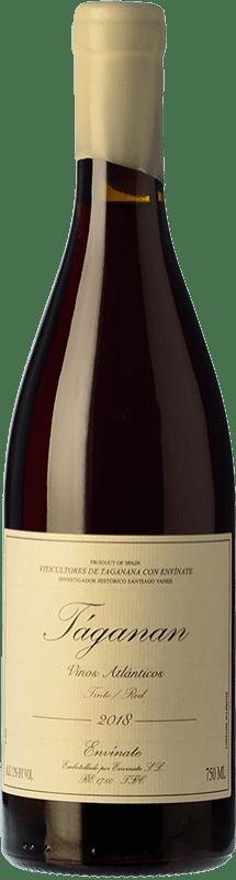 18,95 € Envío gratis | Vino tinto Envínate Táganan Joven España Listán Negro, Malvasía Negra, Listán Gaucho Botella 75 cl