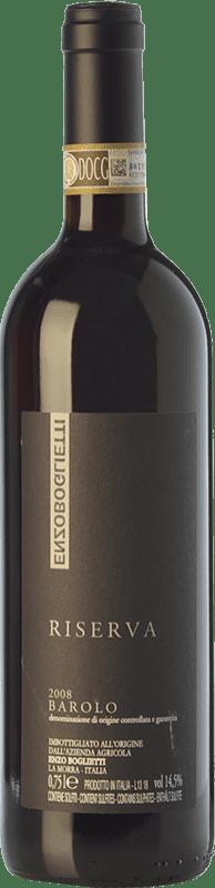 97,95 € Free Shipping | Red wine Enzo Boglietti Riserva Reserva 2008 D.O.C.G. Barolo Piemonte Italy Nebbiolo Bottle 75 cl