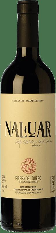 19,95 € Free Shipping | Red wine Erre Vinos Naluar Crianza D.O. Ribera del Duero Castilla y León Spain Tempranillo Bottle 75 cl