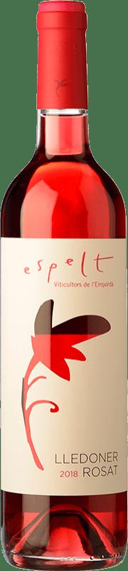 6,95 € Free Shipping | Rosé wine Espelt Lledoner Rosat D.O. Empordà Catalonia Spain Grenache Bottle 75 cl