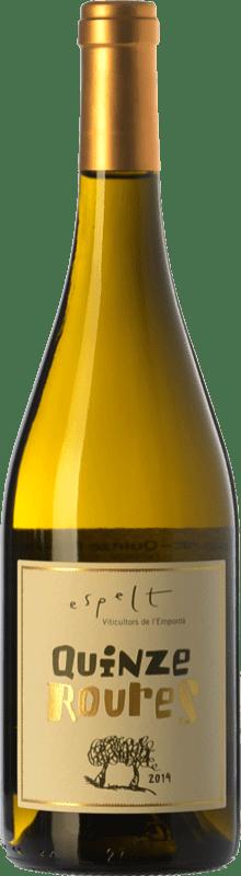 22,95 € | White wine Espelt Quinze Roures Crianza D.O. Empordà Catalonia Spain Grenache White, Grenache Grey Magnum Bottle 1,5 L