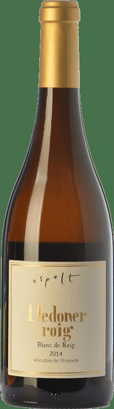23,95 € Free Shipping | White wine Espelt Crianza D.O. Empordà Catalonia Spain Lledoner Roig Bottle 75 cl