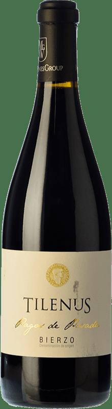 17,95 € | Red wine Estefanía Tilenus Pago de Posada Crianza D.O. Bierzo Castilla y León Spain Mencía Bottle 75 cl