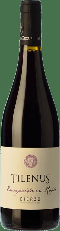 9,95 € | Red wine Estefanía Tilenus Roble D.O. Bierzo Castilla y León Spain Mencía Bottle 75 cl