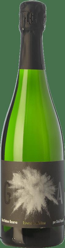 14,95 € Free Shipping | White sparkling Estones de Mishima Guspira Reserva D.O. Cava Catalonia Spain Macabeo, Xarel·lo, Parellada Bottle 75 cl