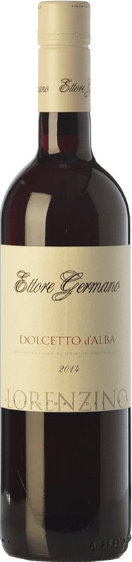 13,95 € Free Shipping | Red wine Ettore Germano Lorenzino D.O.C.G. Dolcetto d'Alba Piemonte Italy Dolcetto Bottle 75 cl