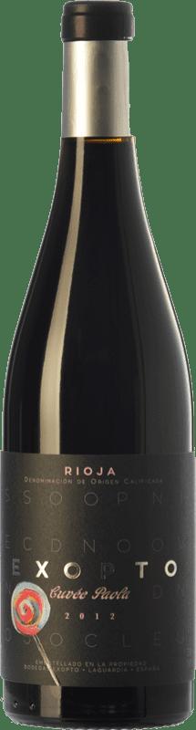 32,95 € Free Shipping | Red wine Exopto Cuvée Paola Crianza D.O.Ca. Rioja The Rioja Spain Tempranillo, Grenache, Graciano Bottle 75 cl