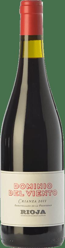 6,95 € Free Shipping | Red wine Exopto Dominio del Viento Crianza D.O.Ca. Rioja The Rioja Spain Tempranillo, Graciano Bottle 75 cl