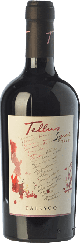 12,95 € | Red wine Falesco Tellus I.G.T. Lazio Lazio Italy Syrah Bottle 75 cl