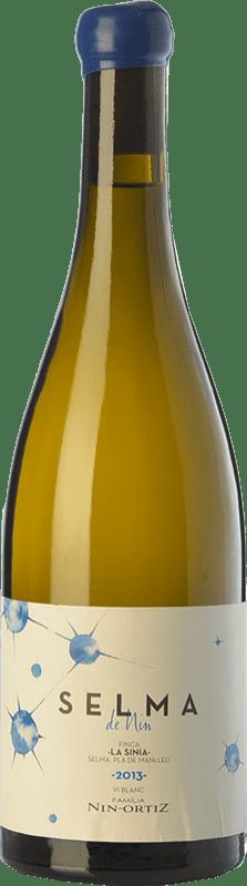 54,95 € Envío gratis | Vino blanco Nin-Ortiz Selma Crianza España Roussanne, Chenin Blanco, Marsanne, Parellada Montonega Botella 75 cl